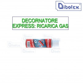 DECORNATORE EXPRESS: RICARICA GAS
