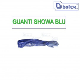 GUANTI SHOWA BEST BLU
