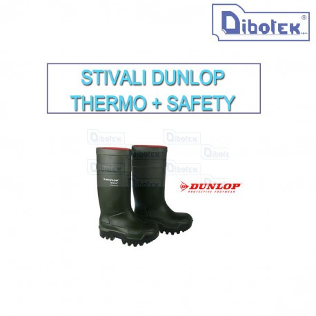 Stivali Dunlop Thermo + Safety