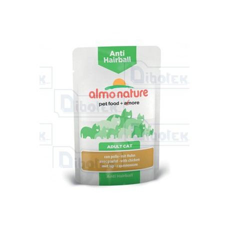Almo Nature - Anti Hairball con Pollo - 1 Bustina 70 gr
