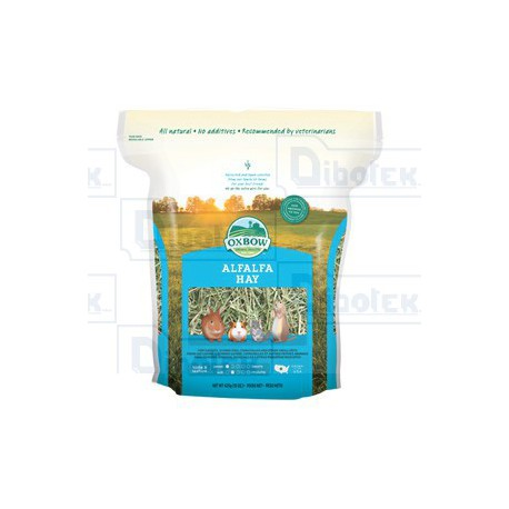 Oxbow Animal Health - Alfalfa Hay - 1 Sacco 425 gr
