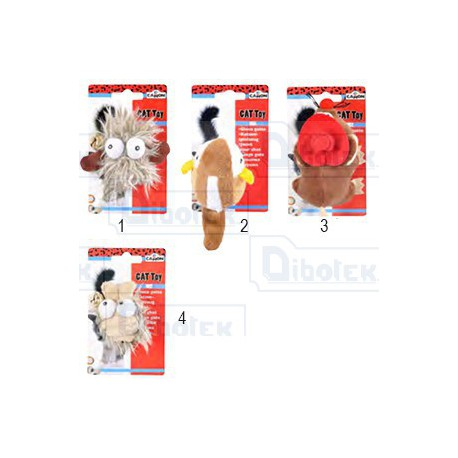 Camon - Mini Peluche Assortiti - AG016 - 1 Peluche da 10 cm
