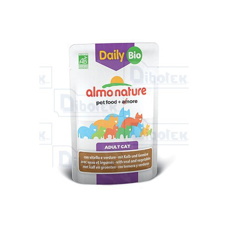 Almo Nature - Daily BIO con Vitello e Verdure 70 gr
