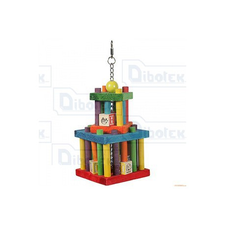 "Happy pet - Building Block Maze da 37 cm 14,5"" - 00793 - 1 Gioco"