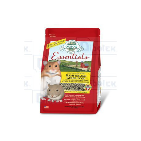 Oxbow - Essentials Hamster and Gerbil Food