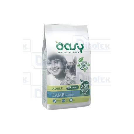 Oasy - One Animal Protein Adult Mini Agnello