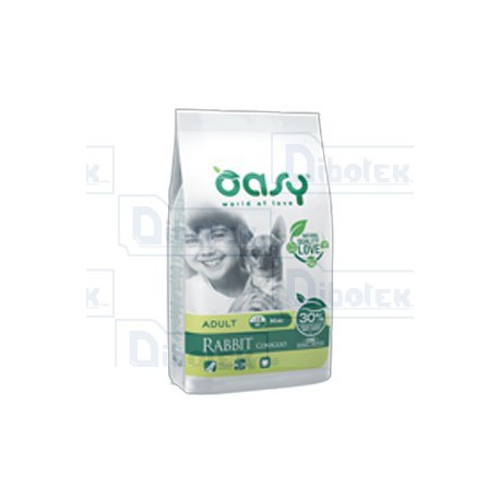 Oasy - One Animal Protein Dry Adult Mini Coniglio