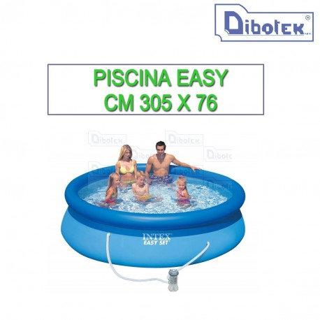 Piscina Intex Easy set rotonda 305x76 con Pompa a filtro cod. 28122