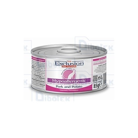 Exclusion - Diet Hypoallergenic Maiale e Patate - 1 Lattina 85 gr