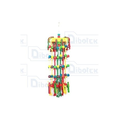 Happy pet - Parrot Toy Waterfall - 21203 - 1 Gioco 25 x 85 cm