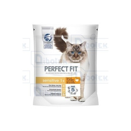 Mars - Perfect Fit Sensitive 1+ con Tacchino - 1 Sacchetto 400 gr
