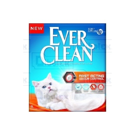 Ever Clean - Fast Acting Odour Control - 1 Lettiera 6 lt