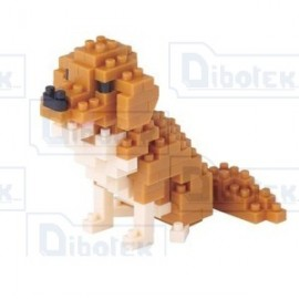 Nanoblock Golden Retriever