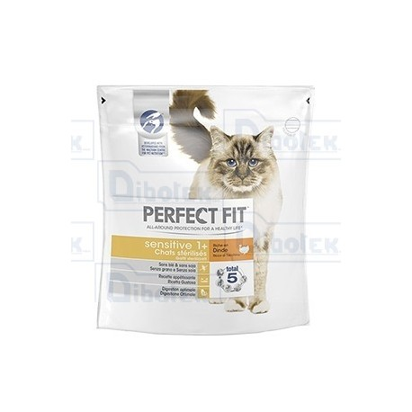 Mars - Perfect Fit Sensitive 1+ con Tacchino - 1 Sacchetto 750 gr