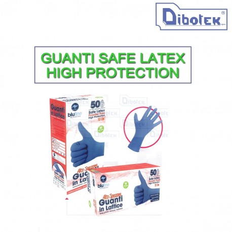 Guanti Safe Latex High Protection Tg. XL