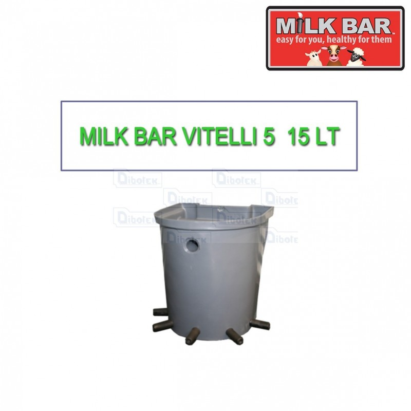 Milk bar vitelli 5 15lt
