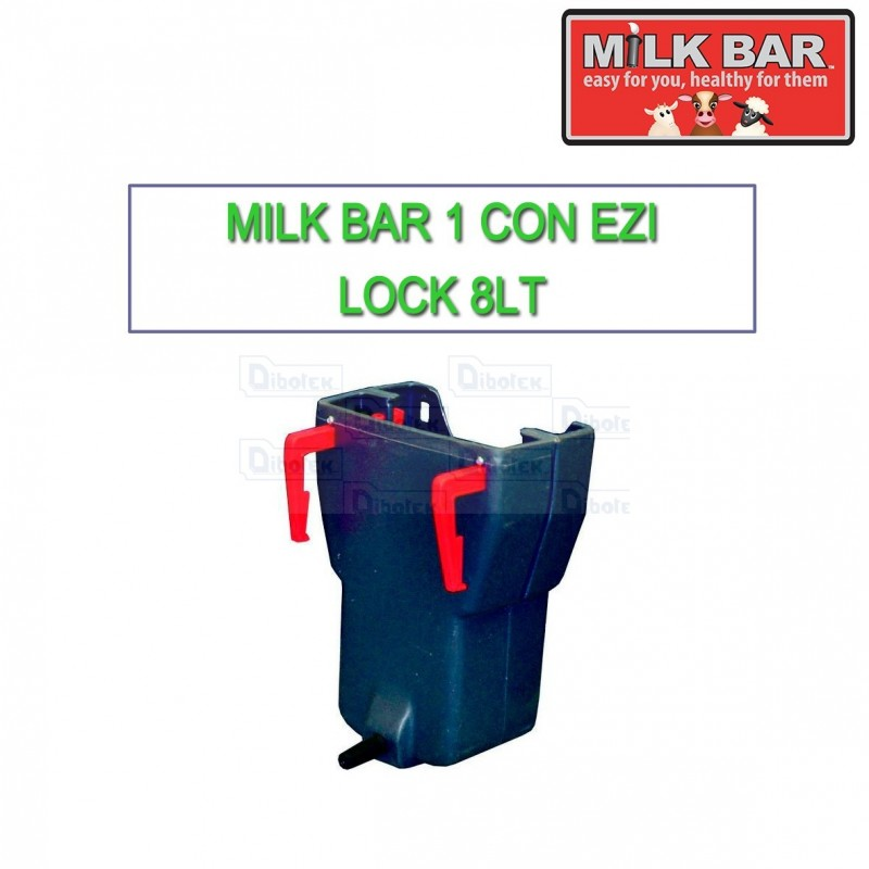 Milk bar 1 vitelli con Ezi Lock 8lt
