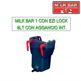 Milk bar 1 vitelli con Ezi Lock 8lt con aggancio interno