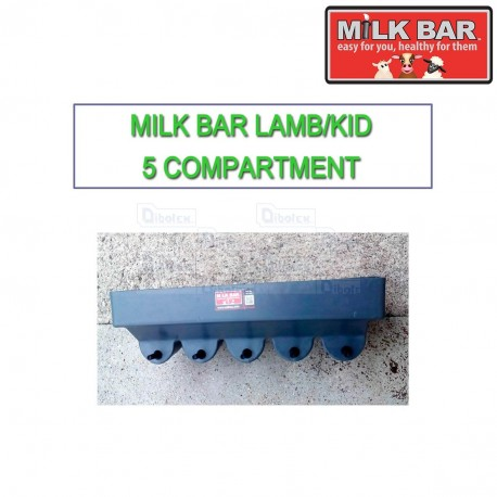 Milk bar Agnelli-Capretti 5 compartment