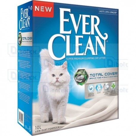 Ever Clean - Lettiera Total Cover - 1 Lettiera 10 lt