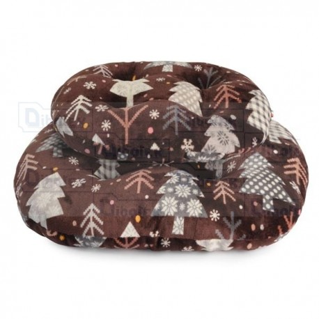 Fabotex - Christmas Time Cuscino Riverside - CP277/A1 - Cuscino | 55 x 50 x 8h cm