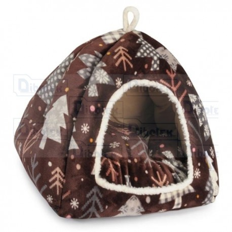 Fabotex - Christmas Time Igloo - CP277/B - Cuccia | 45 x 45 x 40h cm