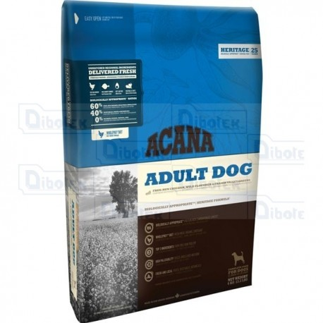 Acana - Heritage Adult Dog - Ex Cobb Chicken & Greens - 1 Sacco 11,400 kg