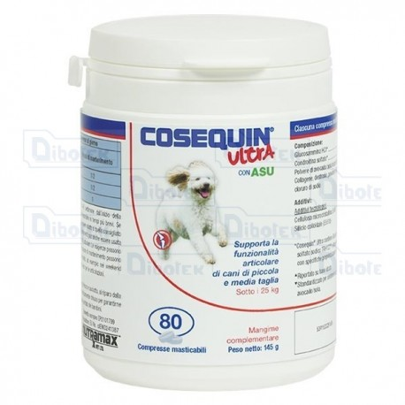 Nutramax - Cosequin Ultra Small / Medium Dogs - Confezione 40 cpr