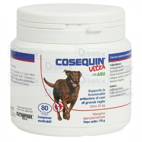 Nutramax - Cosequin Ultra Large Dogs - Confezione 80 cpr