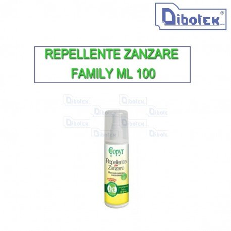 Repellente zanzare family 100 ml