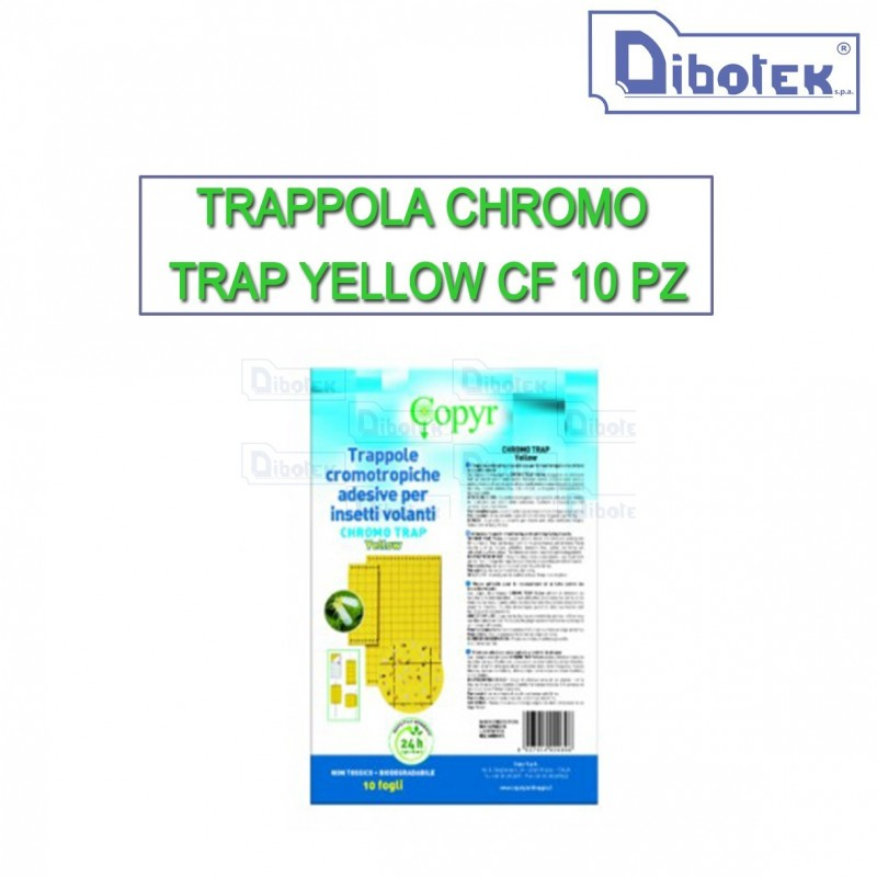 Trappola chromo trap yellow cf 10 pz