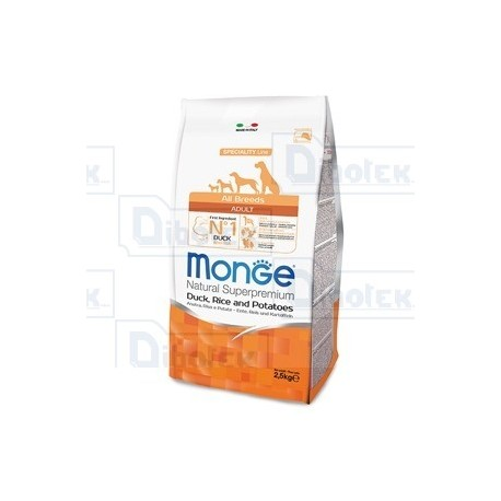 Monge - All Breeds Adult Ana/Ris 2,5Kg