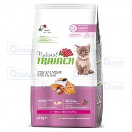 Trainer - Natural Kitten Salmone 1,5Kg