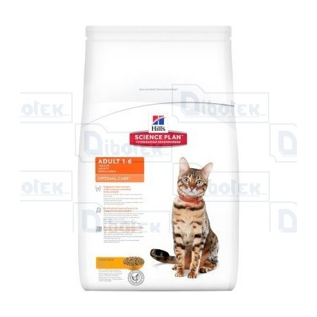 Hill'S - Adult 1-6 Optimal Care Cat 2Kg