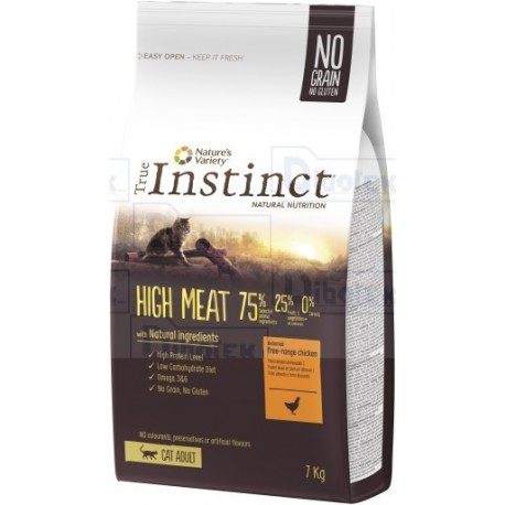 instinct cat high meat adult pollo 300gr