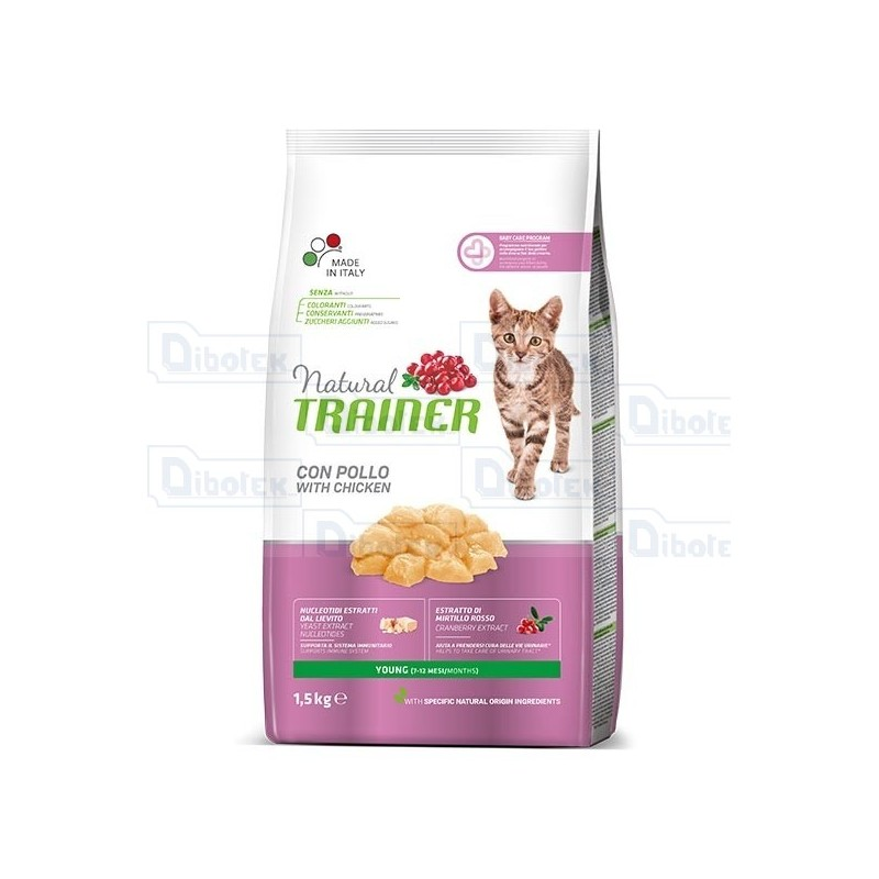 Trainer - Natural Young Pollo Cat 1,5Kg