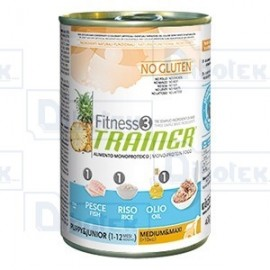Trainer -Fitness 3 Med/Max Pj Fish 400Gr
