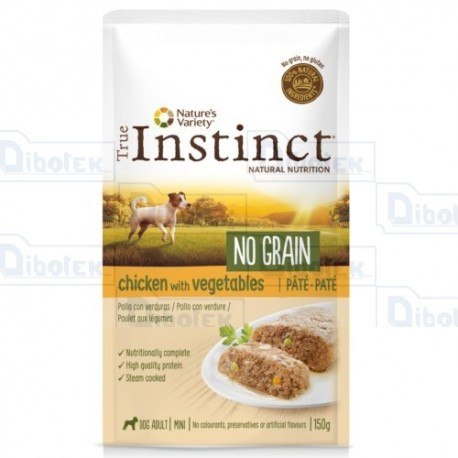 Instinct Dog Mini Pollo Pate' 150Gr