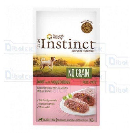 Instinct Dog Mini Manzo Pate' 150Gr