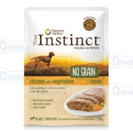 Instinct Dog No Grain Med-Max Poll 300Gr