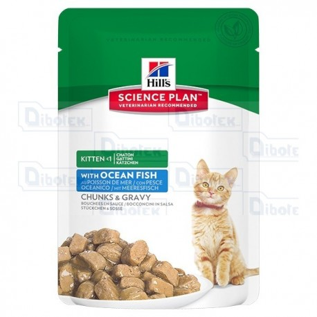 hill's - kitten healthy dev. pesce 85gr