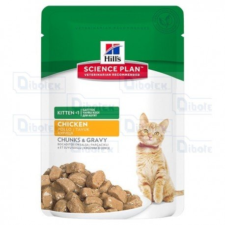hill's - kitten healthy dev. pollo 85gr