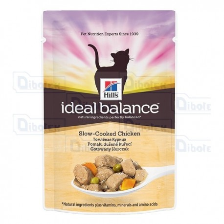 hill's - ideal balance cat pollo 85gr