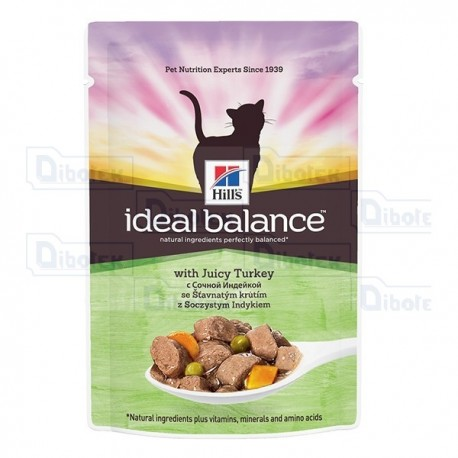 hill's - ideal balance cat tacchino 85gr