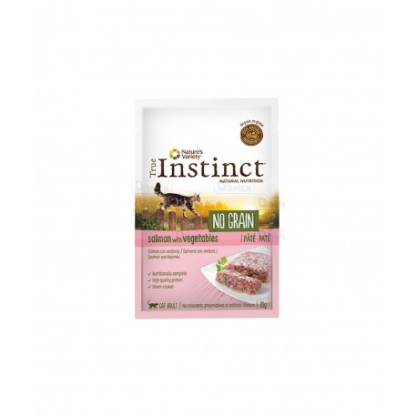 Instinct Cat No Grain Salmone Pate' 70Gr