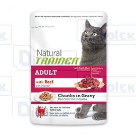 Trainer - Natural Adult Manzo Cat 85Gr