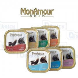 Monamour Cat Gold Salmone Pate' 100Gr