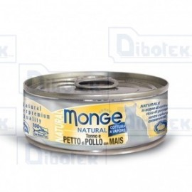 Monge Cat Natural Pollo/Mais Gr.80