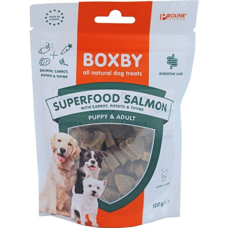 Boxby Superfood Salmon/Carrot 120Gr