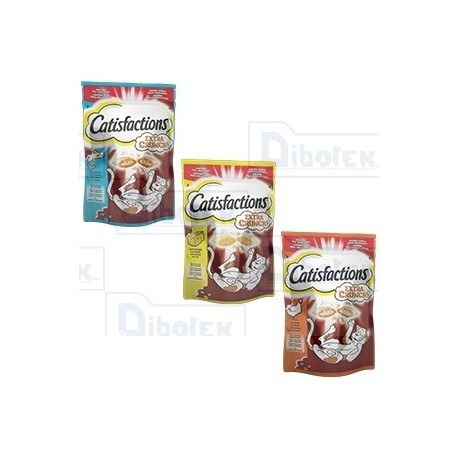 Catisfaction Extra Crunch Salmone 60Gr